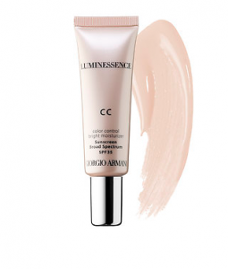 Giorgio Armani CC Cream. For a rosy glow. Available at Sephora and David Jones.